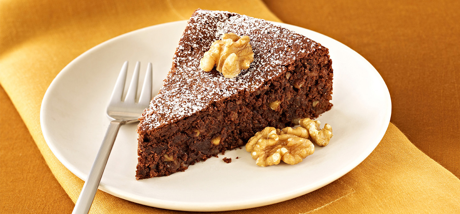 Image for Flourless Chocolate Walnut Torte from Ghirardelli