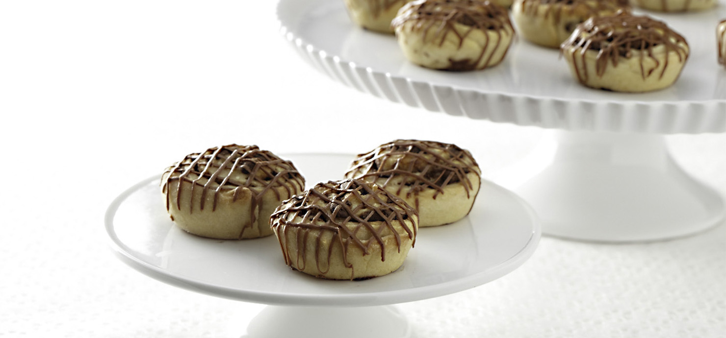 Image for Mini Chocolate Cinnamon Buns from Ghirardelli