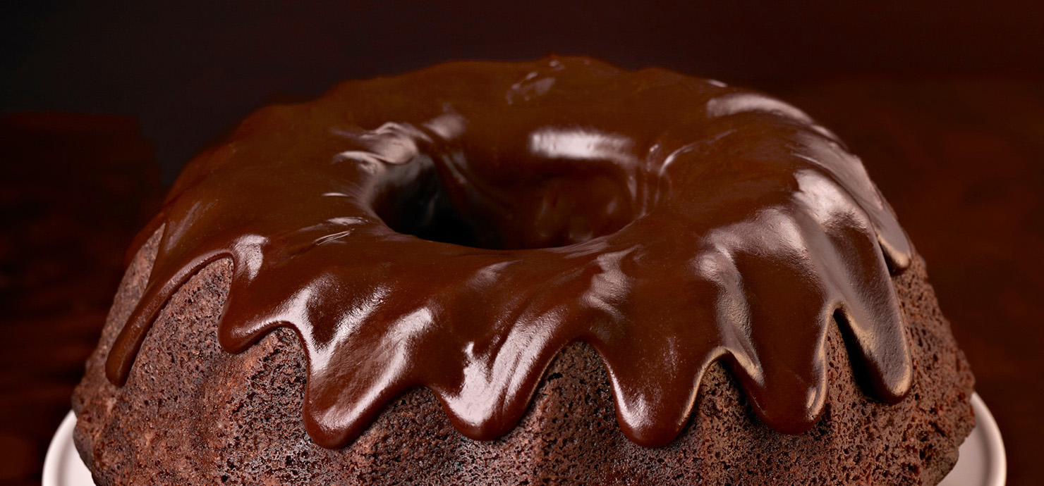 Image for Semi-Sweet Chocolate Glaze from Ghirardelli