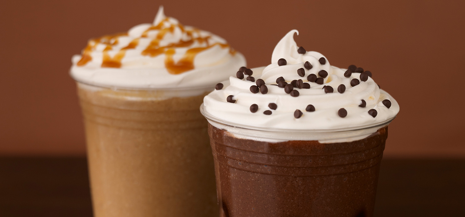 Image for White Mocha Frappé from Ghirardelli