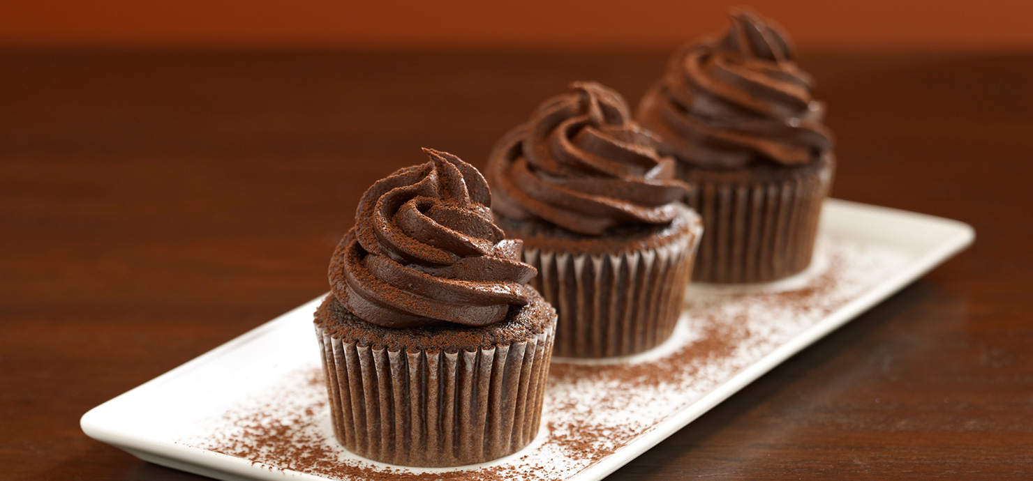 Image for Chocolate Cupcakes from Ghirardelli