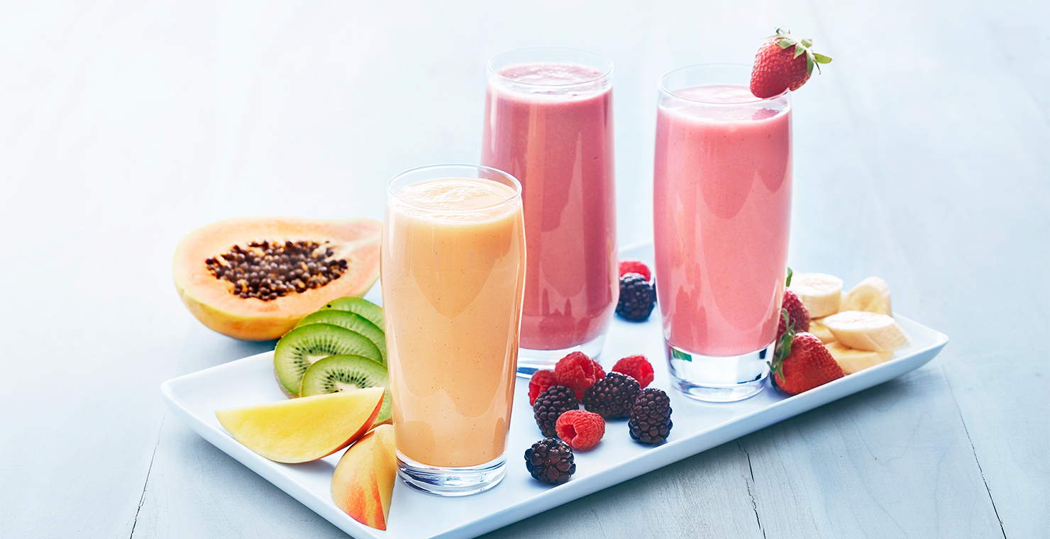 Image for Strawberry Banana Smoothie from Ghirardelli