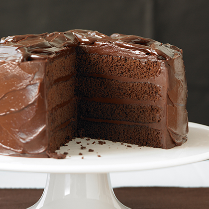 Devil S Food Cake With Sinful Chocolate Frosting