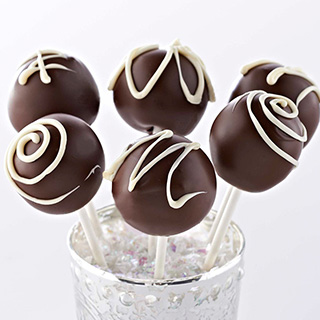 Triple Chocolate Cake Pops