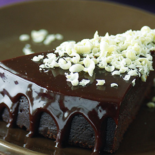 Triple Chocolate Truffle Cake