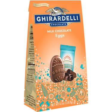 Image for Milk Chocolate Eggs Medium Bag (Case of 12) from Ghirardelli