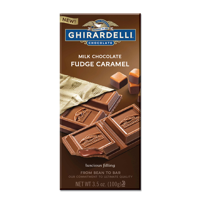 Fudge Caramel Bars (Case of 12)