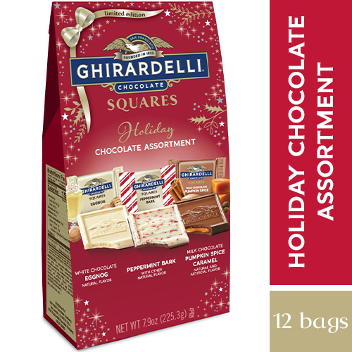 Holiday SQUARES Assortment Large Bags (Case of 12)