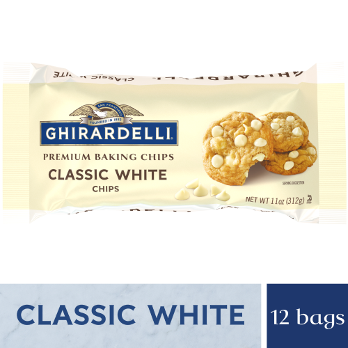 Classic White Baking Chips (Case of 12 Bags)