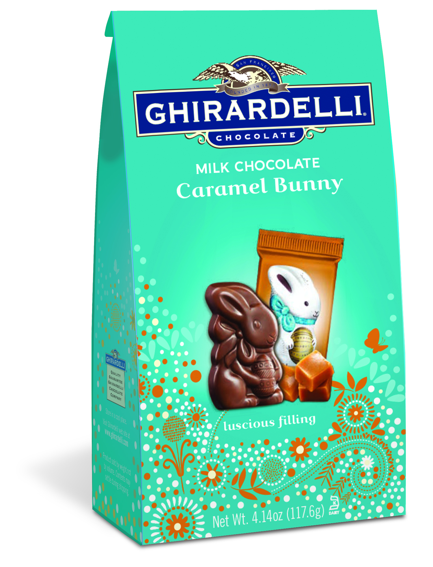 Bunny Milk Chocolate Caramel  Medium Bag (Case of 12)