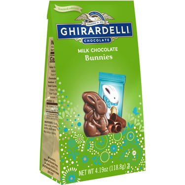 Image for Milk Chocolate Bunnies Medium Bag (Case of 12) from Ghirardelli