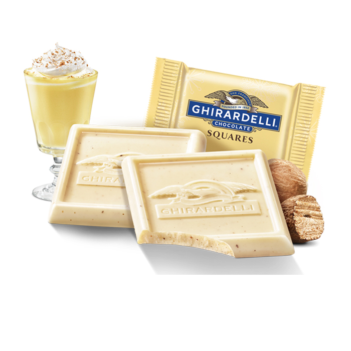 Image for Eggnog SQUARES (540 pc) from Ghirardelli