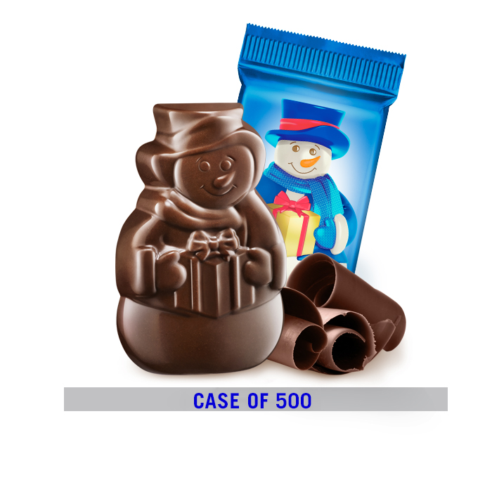 Image for Limited-Edition Milk Chocolate Snowmen (500 pc) from Ghirardelli