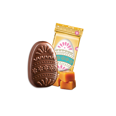 Image for Milk Chocolate Caramel Eggs (500 ct) from Ghirardelli