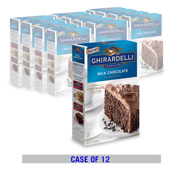Ghirardelli Double Chocolate Cake Mix Review