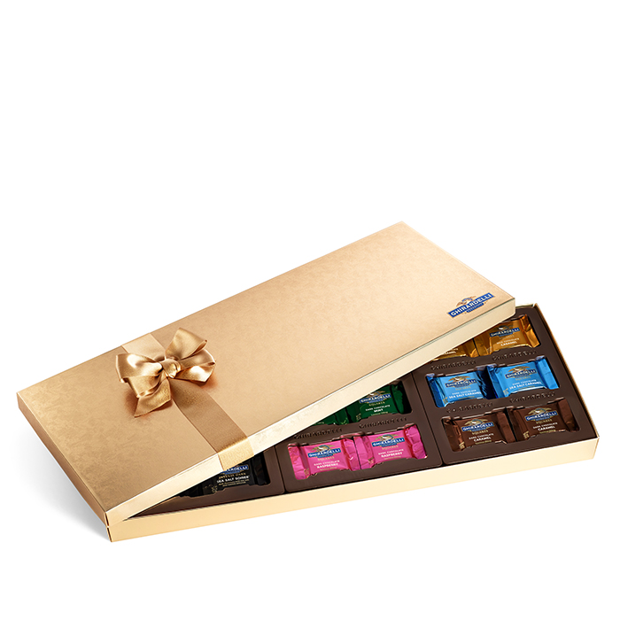 Ghirardelli Holiday Chocolate Lover Assortment Gift Box , 54 pc