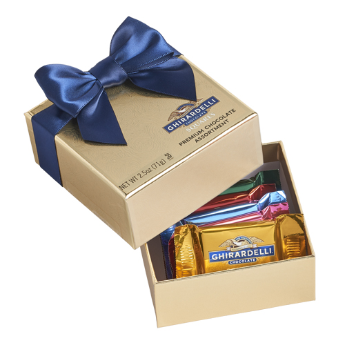 Image for Chocolate Favor Gift Box (5 pc) from Ghirardelli
