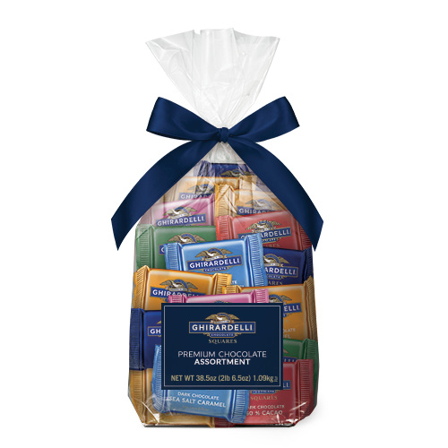 Assorted Chocolate SQUARES Gift Bag (80 pc)