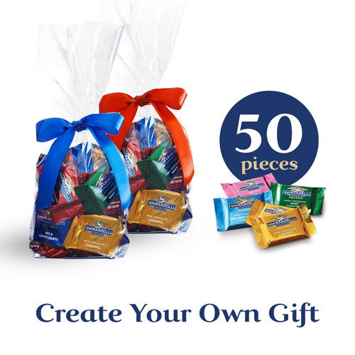Custom Mix Chocolate Gift Bag (50 pc)