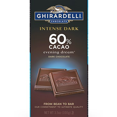 Image for 60% Cacao Evening Dream Bar (Case of 12) from Ghirardelli