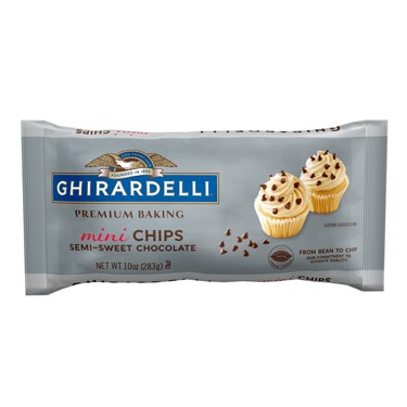 Image for Semi-Sweet Chocolate Mini Baking Chips (Case of 12 Bags) from Ghirardelli