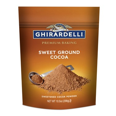 Image for Sweet Ground Cocoa Case Pack (6 bags / 10.5 oz. ea) from Ghirardelli