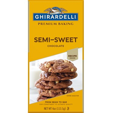 Image for Semi-Sweet Chocolate Baking Bar (Case of 12) from Ghirardelli