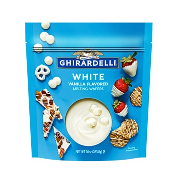 Image for White Melting Wafers (Case of 6 Bags) from Ghirardelli
