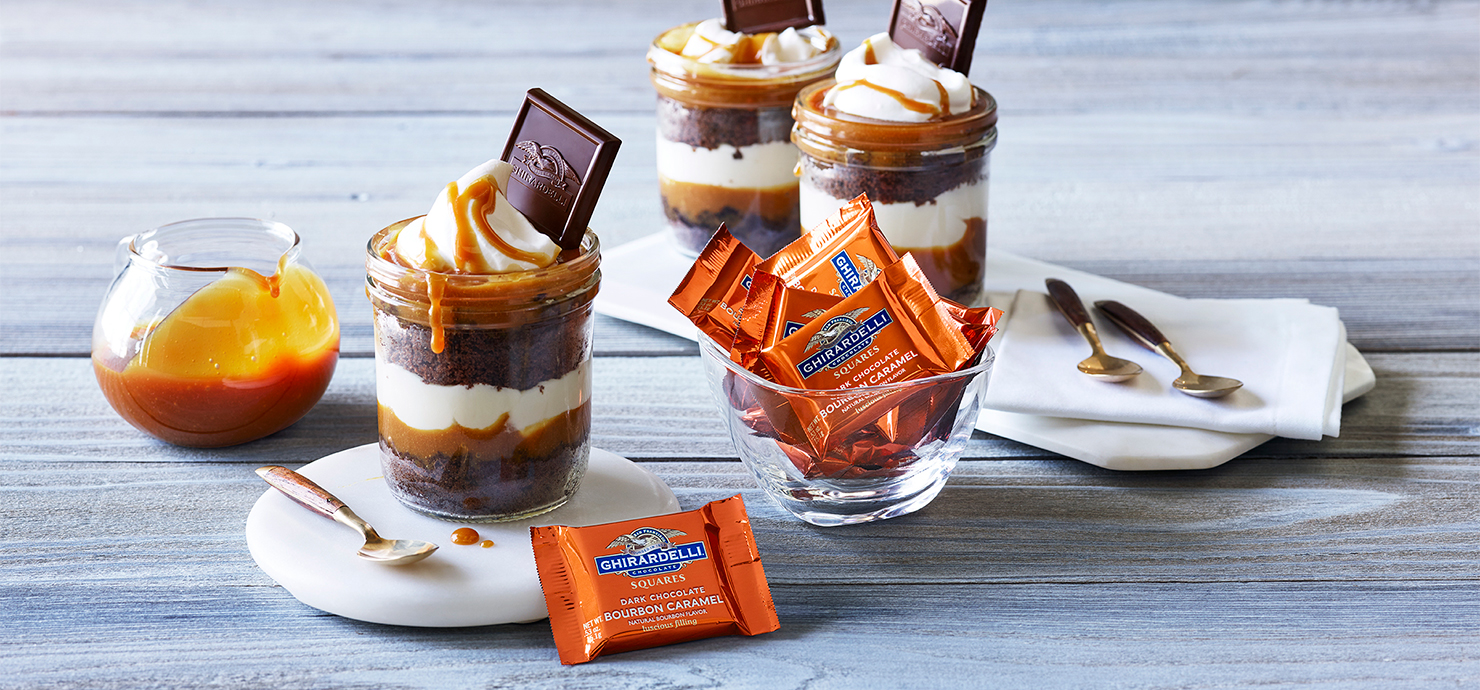 Image for Jar Layer Cake from Ghirardelli
