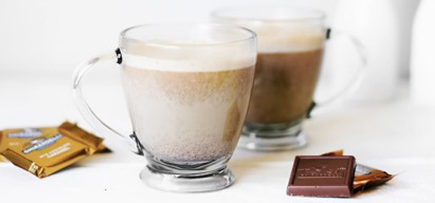Image for Salted Caramel Pumpkin Spice Lattes from Ghirardelli