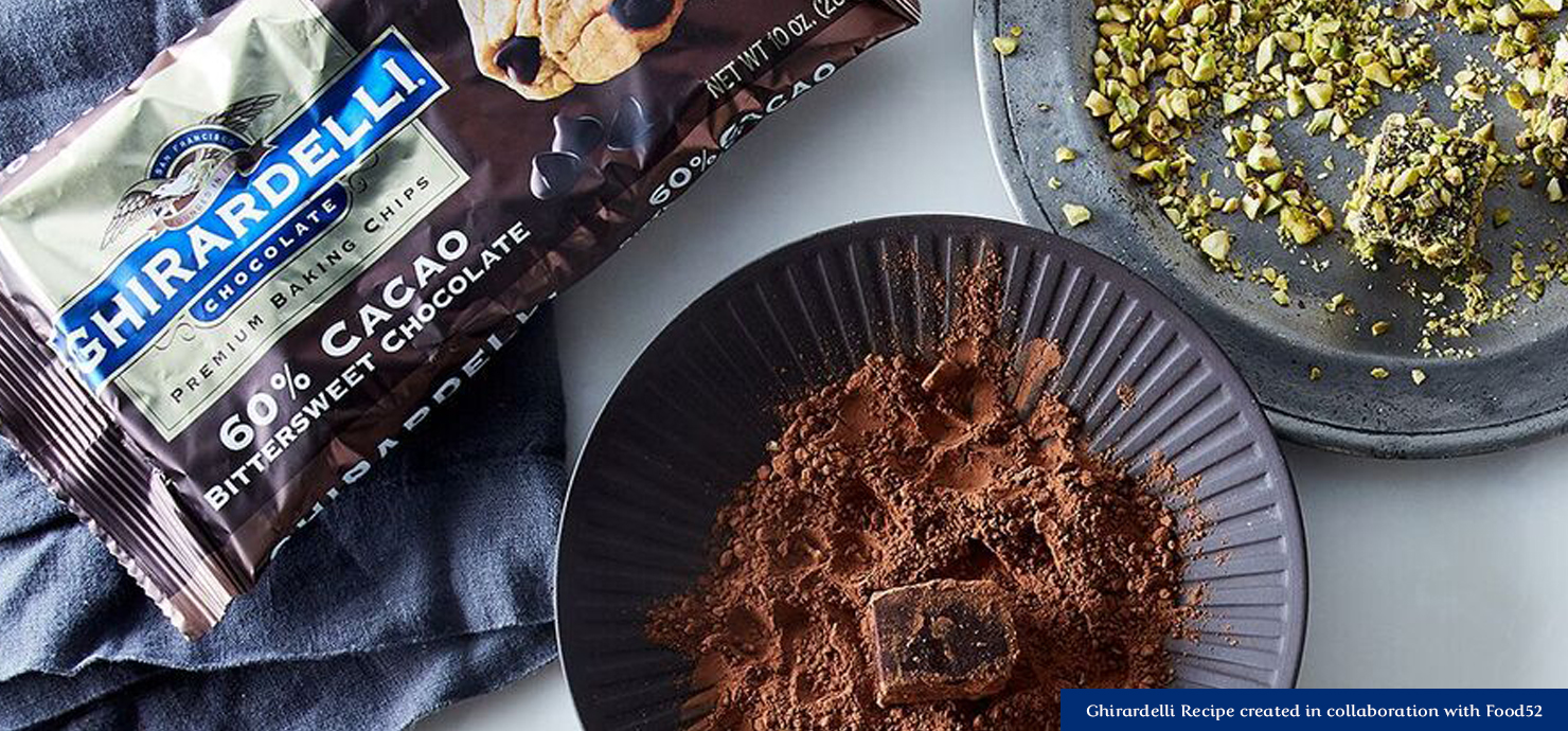 Image for Silky Chocolate Truffles from Ghirardelli