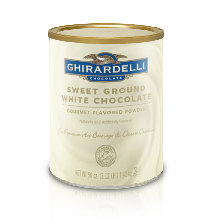 Ghirardelli Sweet Ground White Chocolate Flavored Baking Cocoa | 3.12 lb. | Baking & Desserts