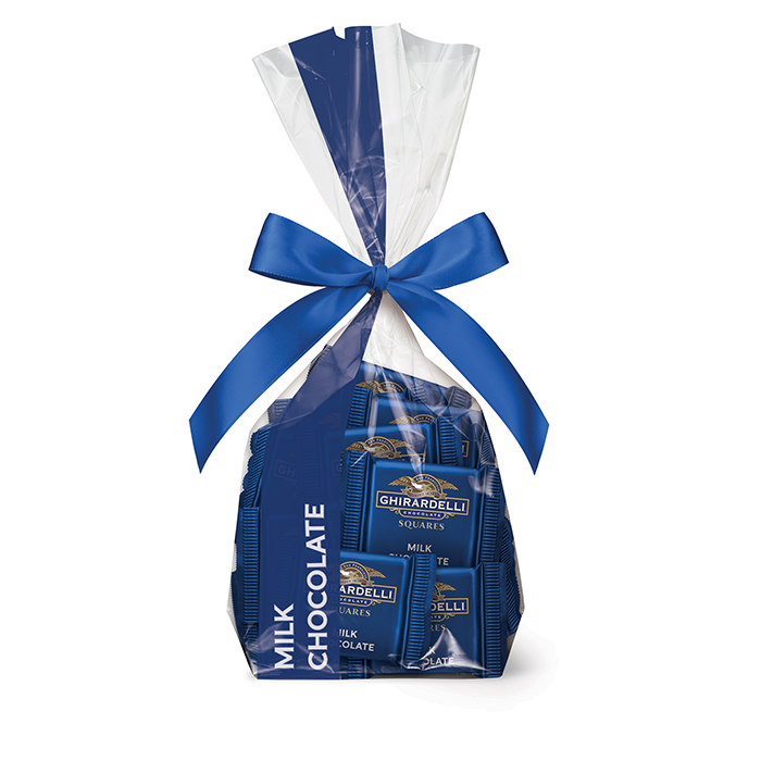 82299 ghirardelli gift bag 33 milk chocolate squares